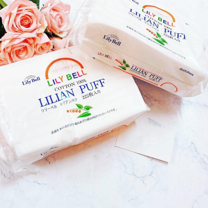 Bông Tẩy Trang Lily Bell Lilian Puff Cotton