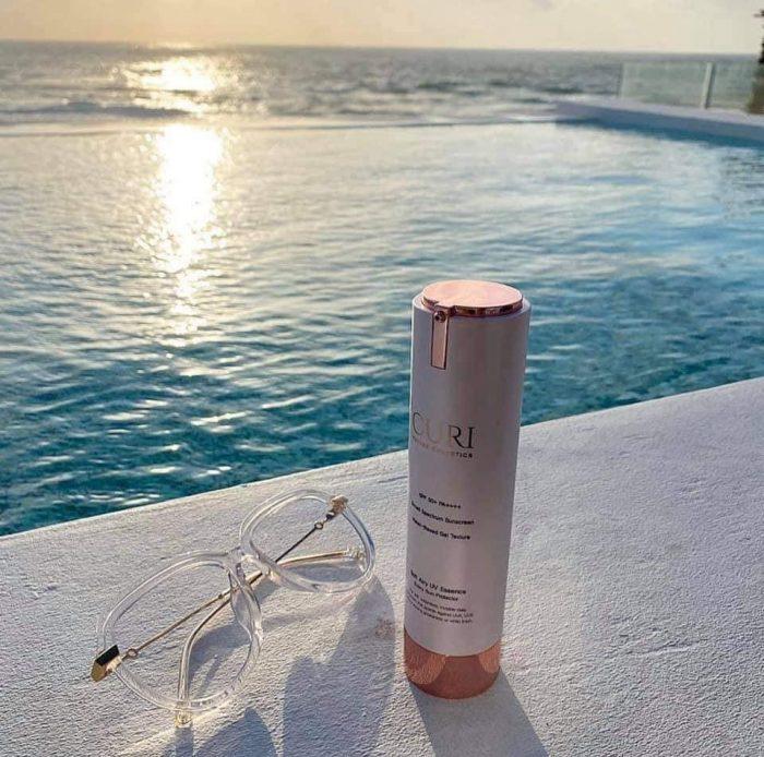 Kem chống nắng Curi Soft Airy UV Essence SPF50+ PA