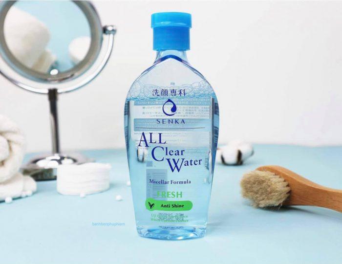 Nước tẩy trang Senka All Clear Water Micellar Formula