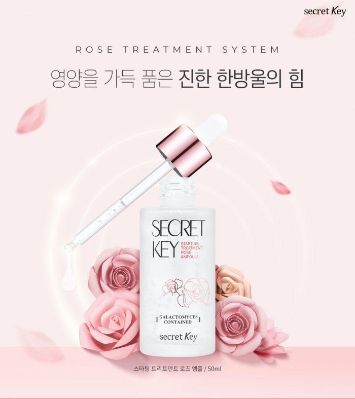 Secret Key Starting Treatment Rose Ampoule