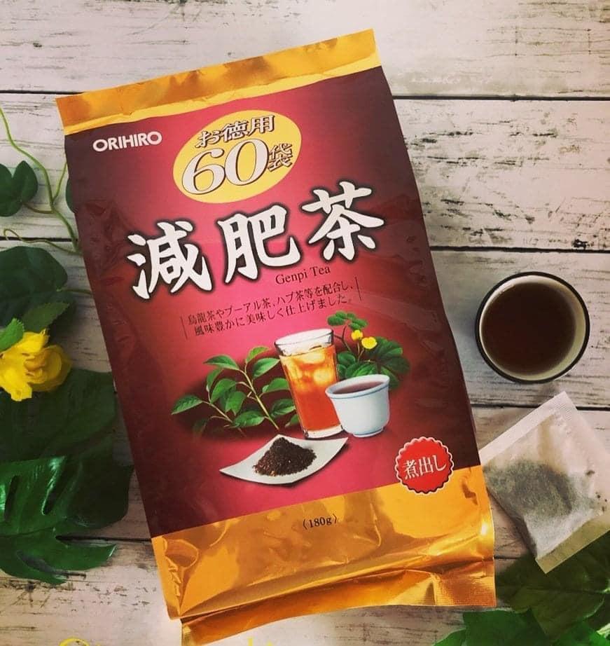 Review Trà thảo mộc giảm mỡ bụng Genpi Tea Orihiro có tốt không?】