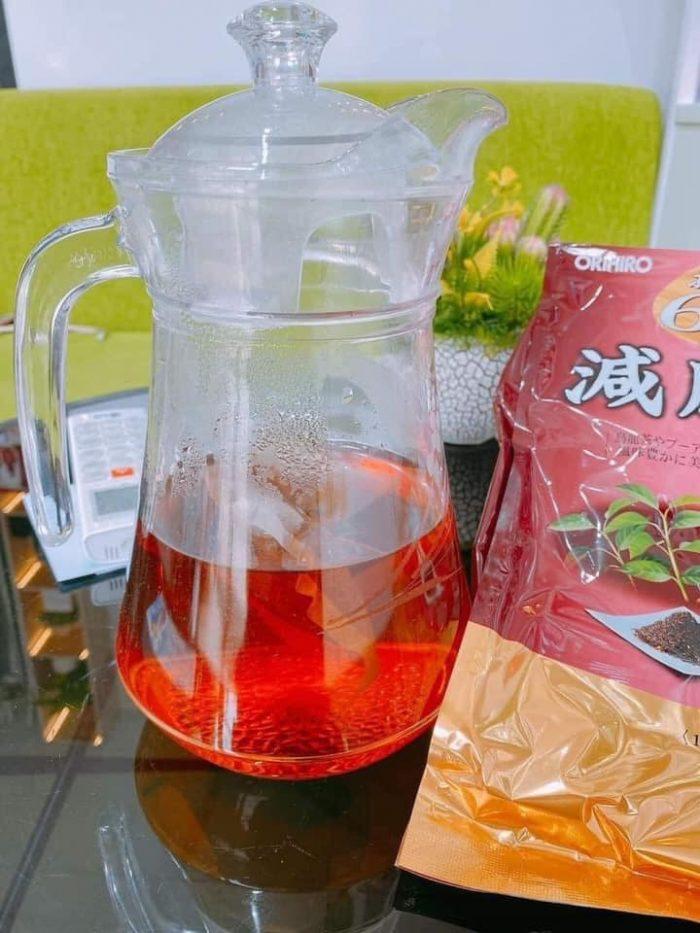 Trà giảm mỡ bụng Genpi Tea Orihiro