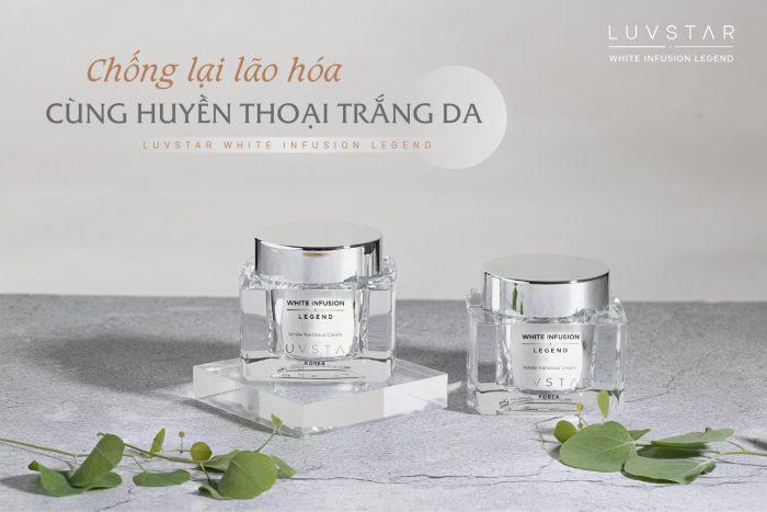 Kem dưỡng Luvstar White Narcissus Cream