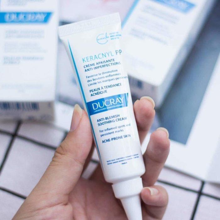 Kem Ducray Keracnyl PP Anti-Blemish Soothing Cream