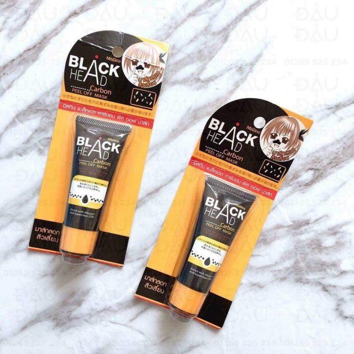 Mặt Nạ Lột Mụn Mistine Black-Head Carbon Peel Off Mask