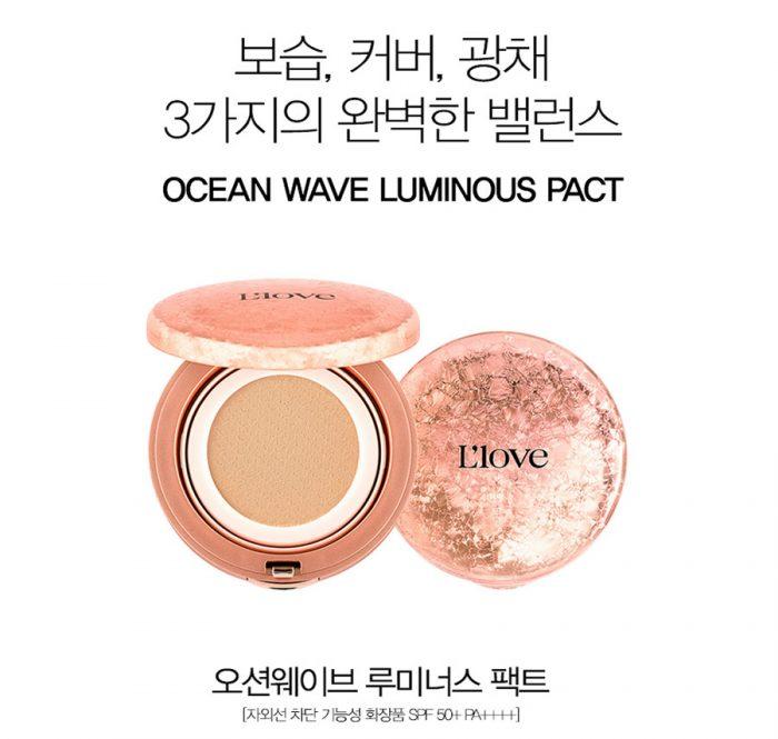 Phấn nước L'Love Ocean Wave Luminous Pact
