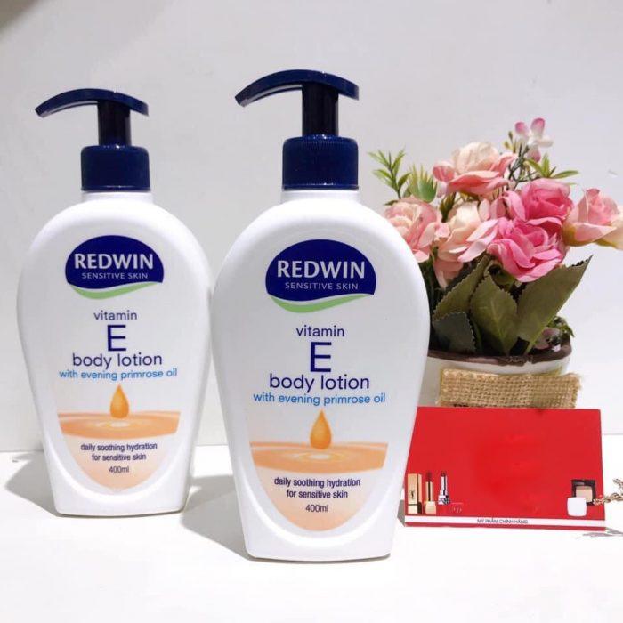 Sữa dưỡng thể Redwin Vitamin E Body Lotion