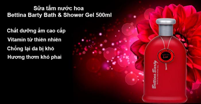 sữa tắm Bettina Barty Bath&Shower Gel