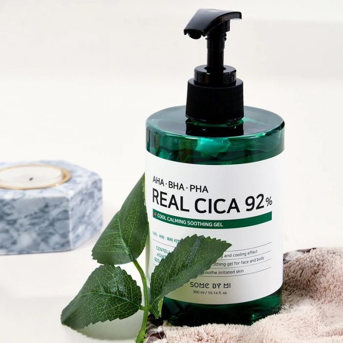 Some By Mi AHA BHA PHA Real Cica 92% Cool Calming Soothing Gel