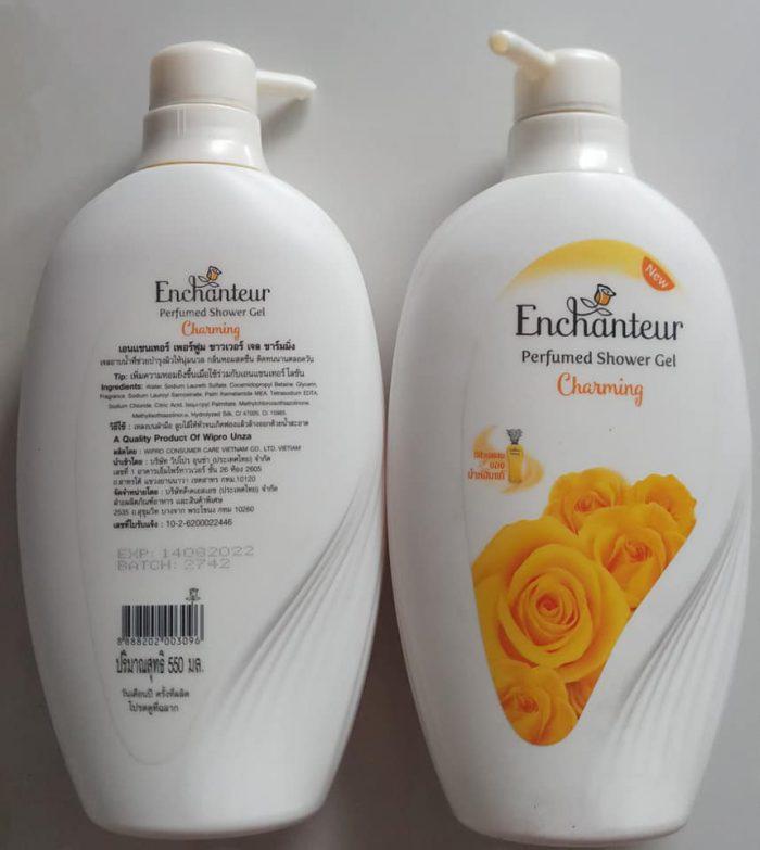 Sữa tắm Enchanteur Perfumed Shower Gel Charming