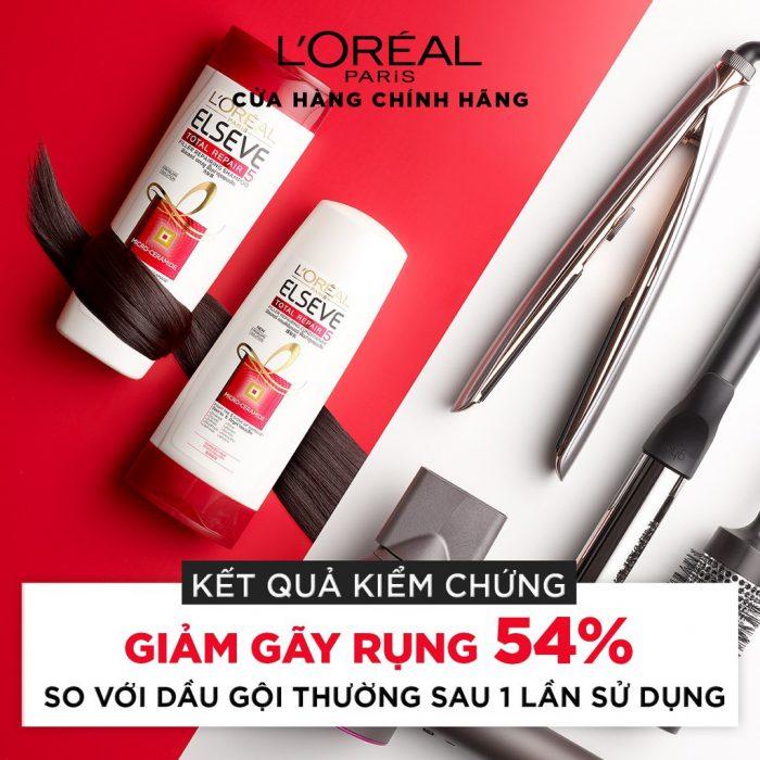 Dầu Gội L'Oreal Elseve Total Repair 5 Shampoo