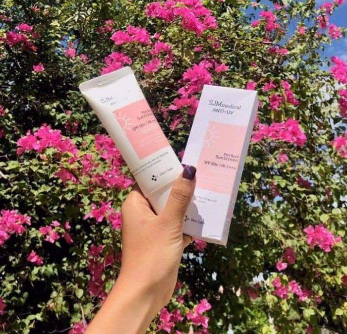Kem chống nắng SJM Medical Anti UV Perfect SunScreen SPF50+/PA++++