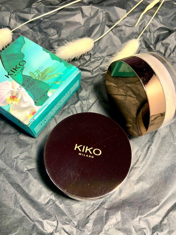 Phấn phủ Kiko Unexpected Paradise Loose Powder