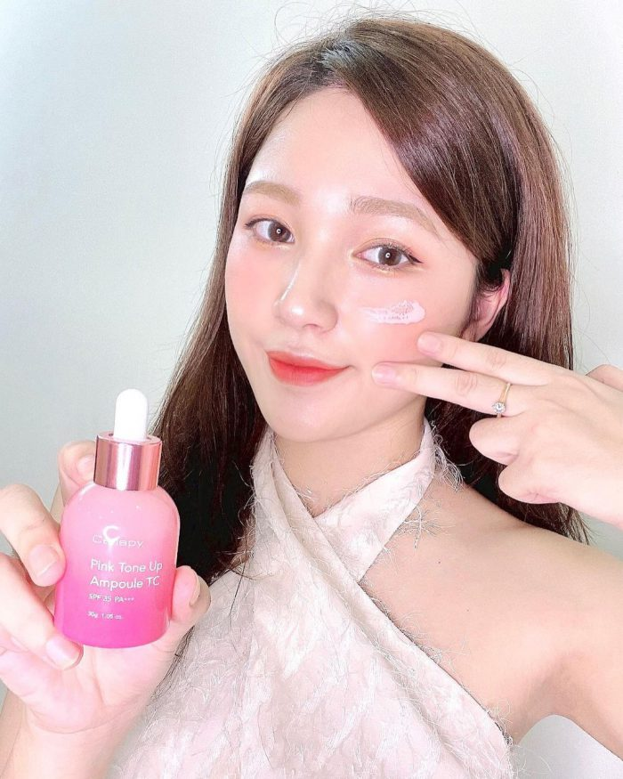 serum Cellapy Pink Tone Up Ampoule tc