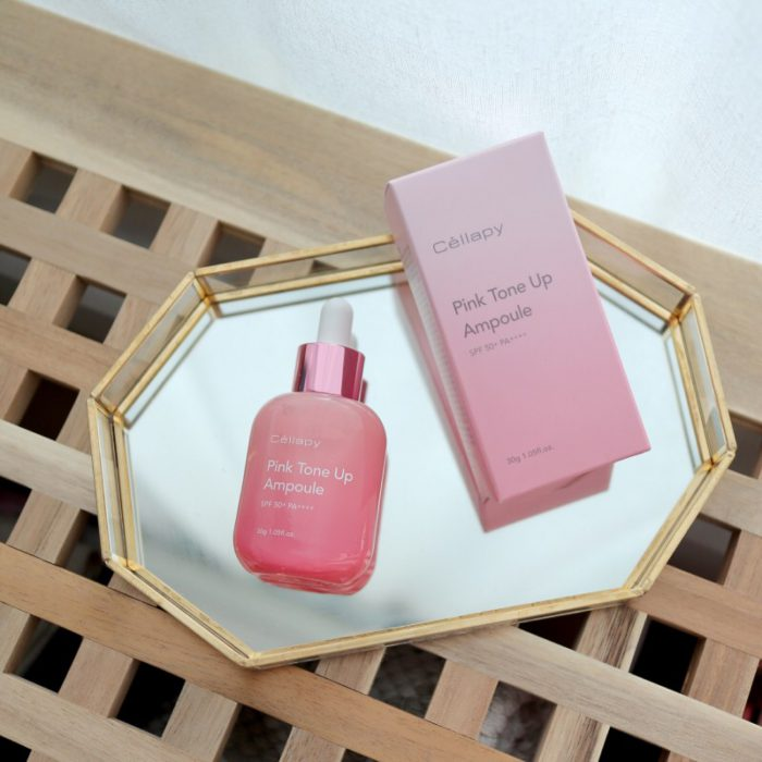 serum Cellapy Pink Tone Up Ampoule SPF50+ PA++++