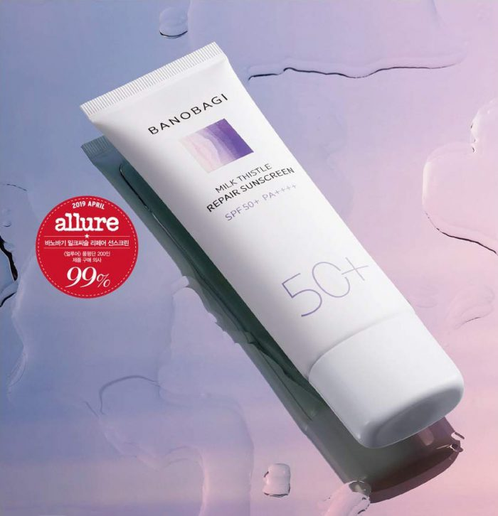 Kem Chống Nắng Banobagi Milk Thistle Repair Sunscreen SPF50+/PA ++++
