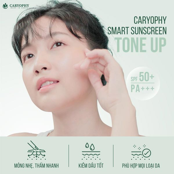 Kem chống nắng Caryophy smart Sunscreen