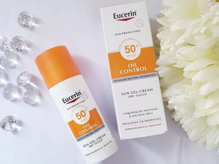 Kem Chống Nắng Eucerin Sun Gel-Creme Oil Control Dry Touch SPF50+