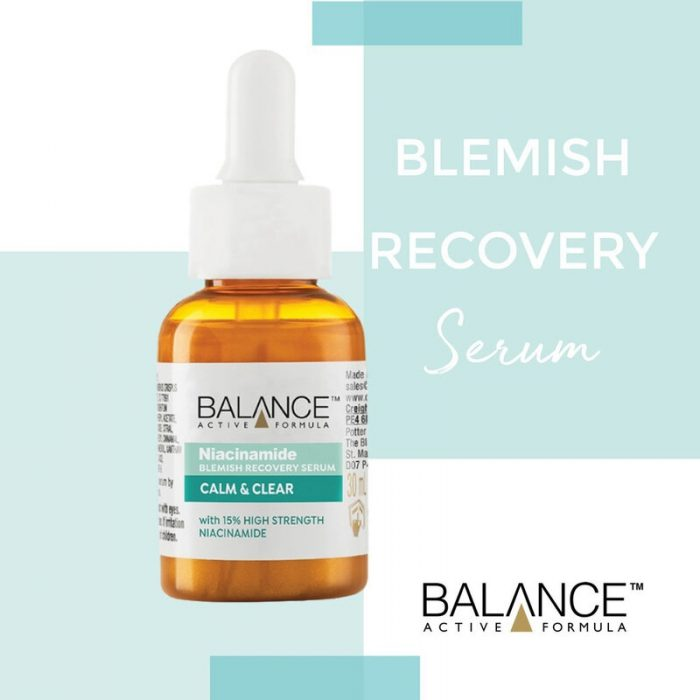 Balance Active Formula Niacinamide Blemish Recovery Serum