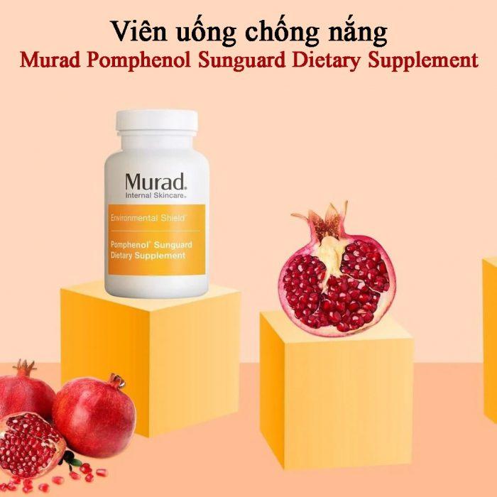 Viên uống chống nắng Murad Pomphenol Sunguard Dietary Supplement